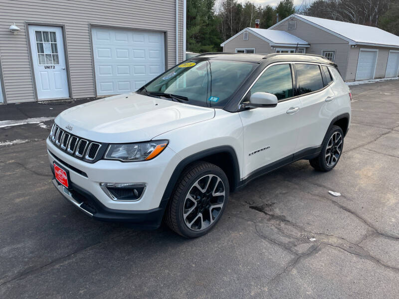 2018 Jeep Compass for sale at Glen's Auto Sales in Fremont NH