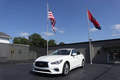 2019 Infiniti Q50 for sale at Danny Holder Automotive in Ashland City TN