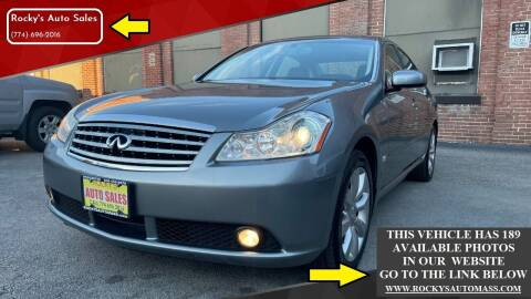 2007 Infiniti M35 for sale at Rocky's Auto Sales in Worcester MA