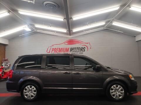 2016 Dodge Grand Caravan for sale at Premium Motors in Villa Park IL