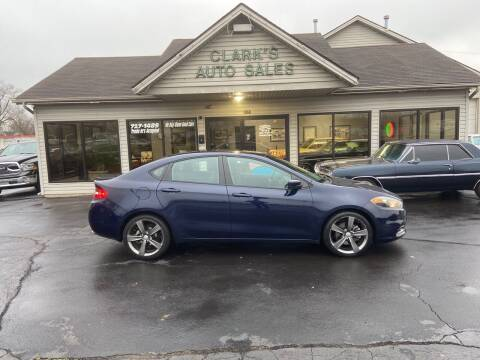 2014 Dodge Dart for sale at Clarks Auto Sales in Middletown OH