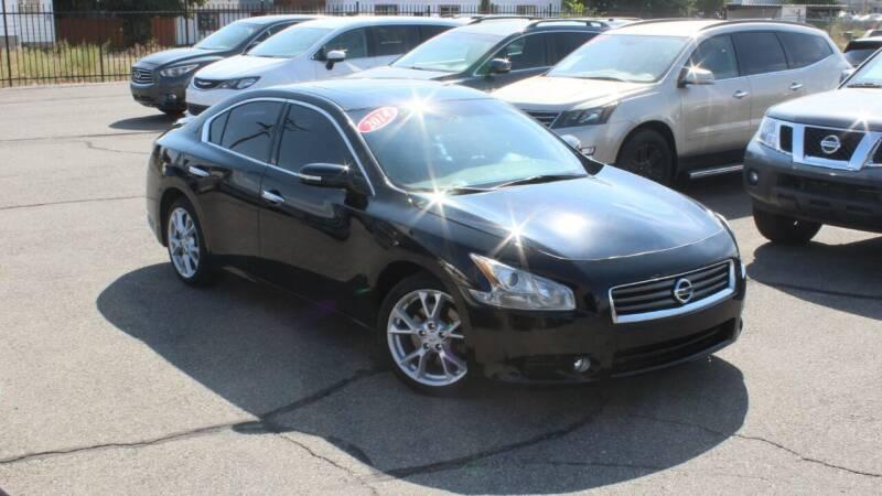 2014 Nissan Maxima for sale at Car Bazaar INC in Salt Lake City UT