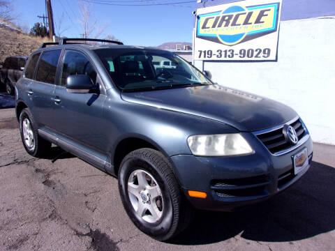 2005 Volkswagen Touareg for sale at Circle Auto Center in Colorado Springs CO