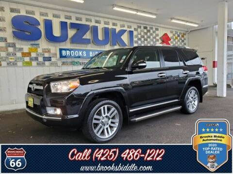 2012 Toyota 4Runner for sale at BROOKS BIDDLE AUTOMOTIVE in Bothell WA