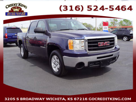 2009 GMC Sierra 1500 for sale at Credit King Auto Sales in Wichita KS