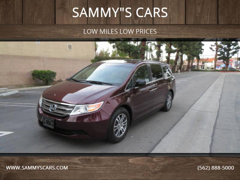 """2011 Honda Odyssey for sale at SAMMY""""S CARS in Bellflower CA"""