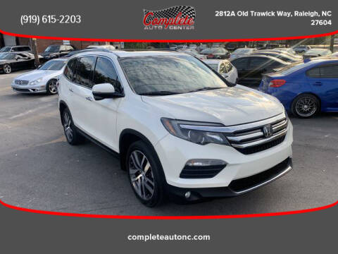 2016 Honda Pilot for sale at Complete Auto Center , Inc in Raleigh NC