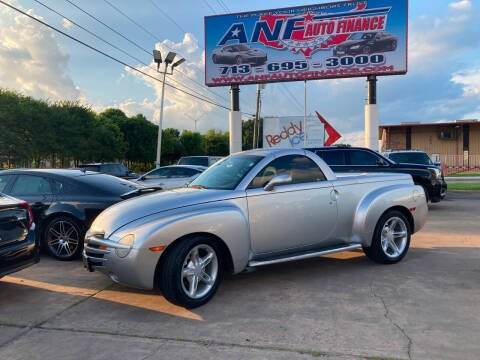 2004 Chevrolet SSR for sale at ANF AUTO FINANCE in Houston TX
