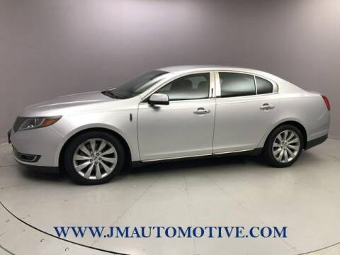 2014 Lincoln MKS for sale at J & M Automotive in Naugatuck CT