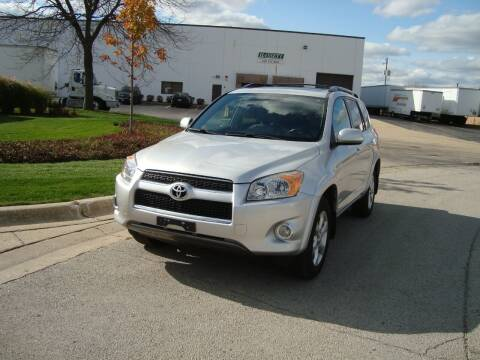 2010 Toyota RAV4 for sale at ARIANA MOTORS INC in Addison IL