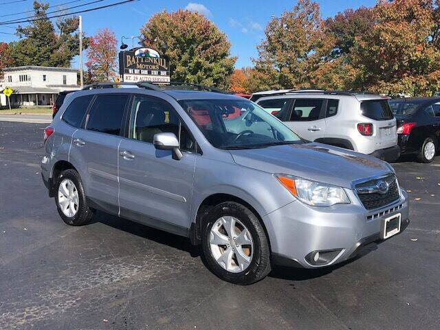 2014 Subaru Forester for sale at BATTENKILL MOTORS in Greenwich NY