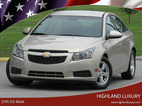 2011 Chevrolet Cruze for sale at Highland Luxury in Highland IN