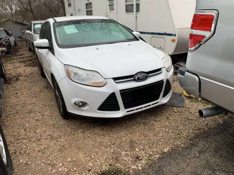 2014 Ford Focus for sale at BULLSEYE MOTORS INC in New Braunfels TX