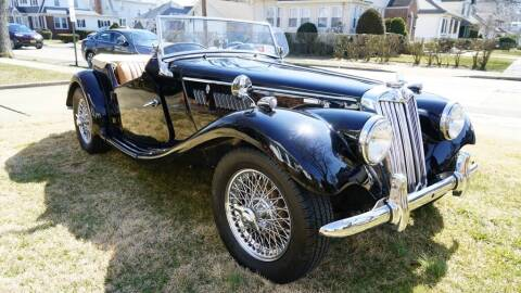 1955 MG TF for sale at Fiore Motors, Inc.  dba Fiore Motor Classics in Old Bethpage NY