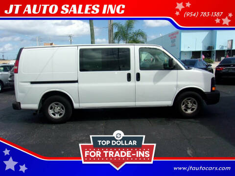 2008 Chevrolet Express Cargo for sale at JT AUTO SALES INC in Oakland Park FL