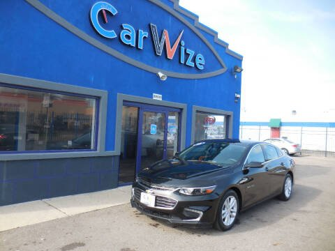 2018 Chevrolet Malibu for sale at Carwize in Detroit MI