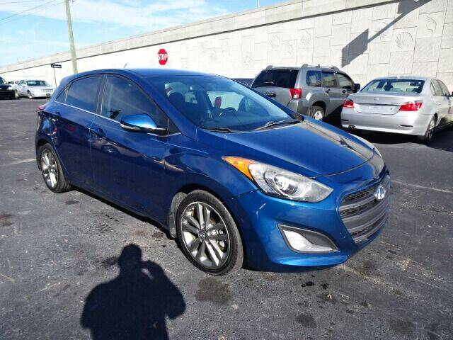 2016 Hyundai Elantra GT for sale at DONNY MILLS AUTO SALES in Largo FL