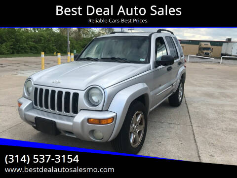 2003 Jeep Liberty for sale at Best Deal Auto Sales in Saint Charles MO