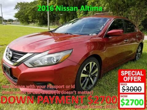 2016 Nissan Altima for sale at AUTO COLLECTION OF SOUTH MIAMI in Miami FL