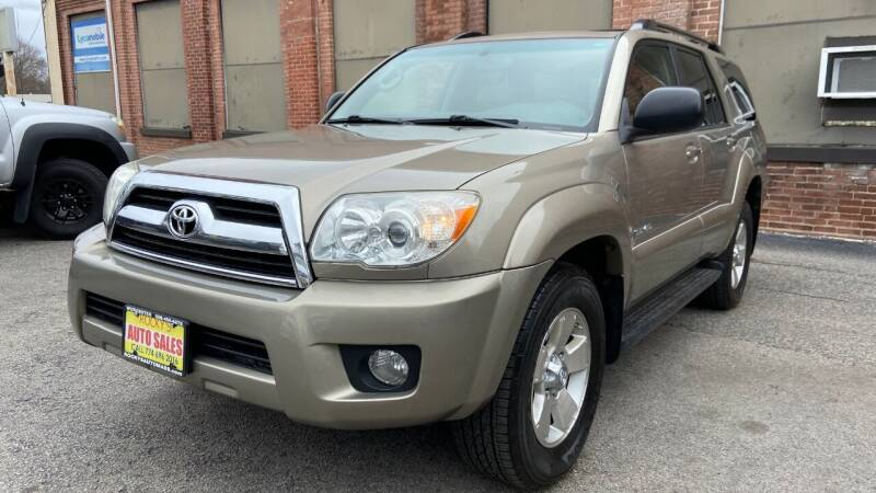 2007 Toyota 4Runner for sale at Rocky's Auto Sales in Worcester MA