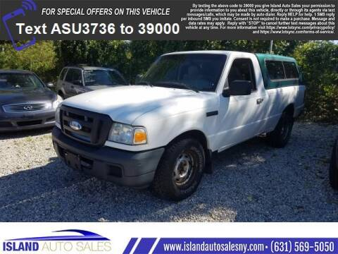 2006 Ford Ranger for sale at Island Auto Sales in E.Patchogue NY