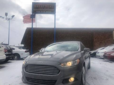 2013 Ford Fusion for sale at GREAT DEAL AUTO SALES in Center Line MI