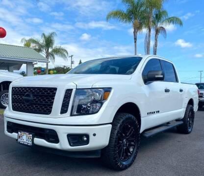 2018 Nissan Titan for sale at PONO'S USED CARS in Hilo HI