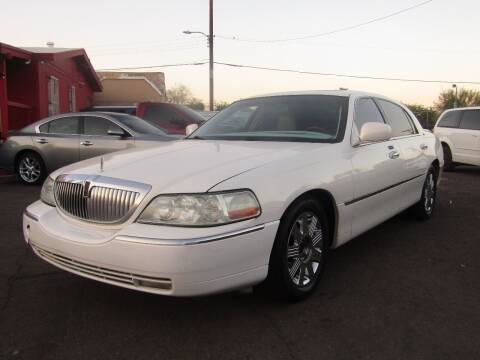 2003 Lincoln Town Car for sale at More Info Skyline Auto Sales in Phoenix AZ
