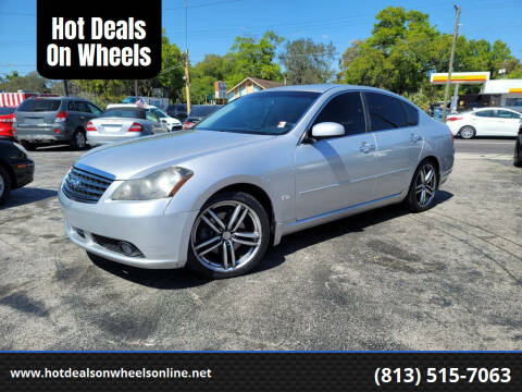 2006 Infiniti M45 for sale at Hot Deals On Wheels in Tampa FL