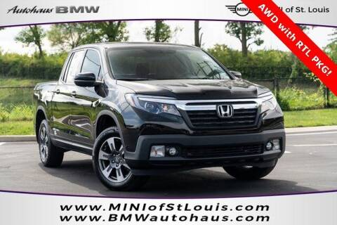 2017 Honda Ridgeline for sale at Autohaus Group of St. Louis MO - 3015 South Hanley Road Lot in Saint Louis MO