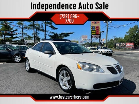 2007 Pontiac G6 for sale at Independence Auto Sale in Bordentown NJ