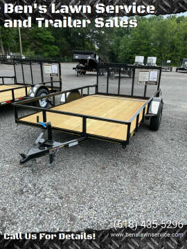 2021 Trailer Express 12'Utility for sale at Ben's Lawn Service and Trailer Sales in Benton IL