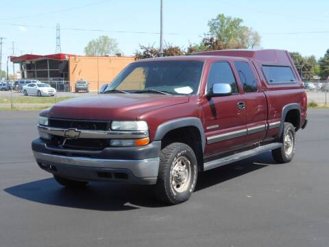 2002 Chevrolet Silverado 2500HD for sale at MT MORRIS AUTO SALES INC in Mount Morris MI