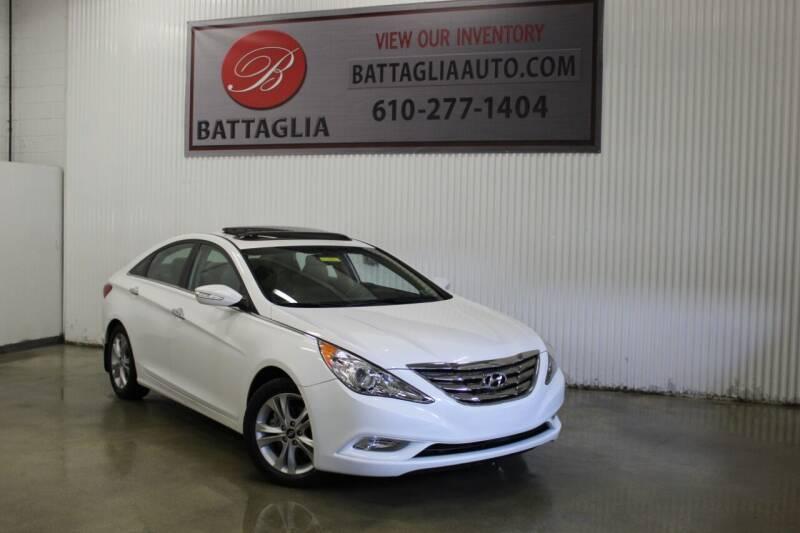 2013 Hyundai Sonata for sale at Battaglia Auto Sales in Plymouth Meeting PA