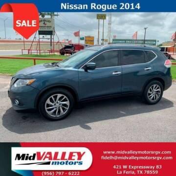2014 Nissan Rogue for sale at Mid Valley Motors in La Feria TX