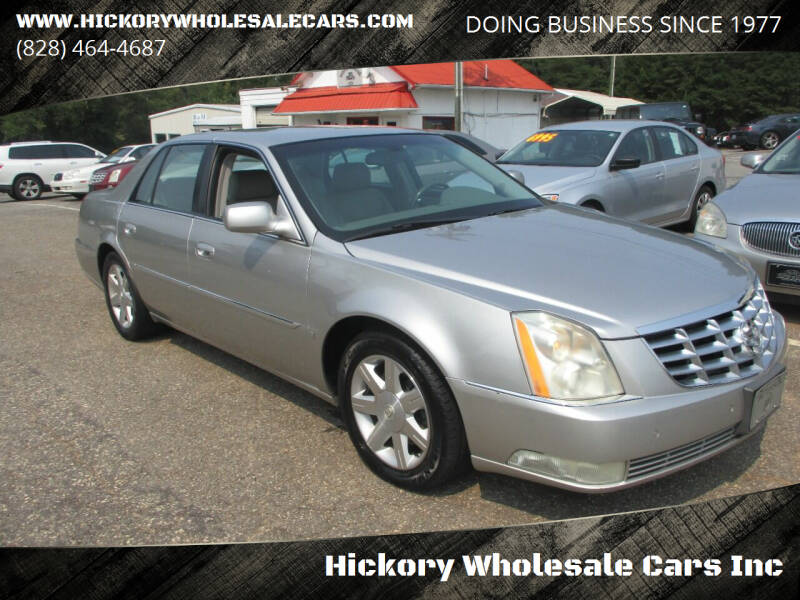 2006 Cadillac DTS for sale at Hickory Wholesale Cars Inc in Newton NC