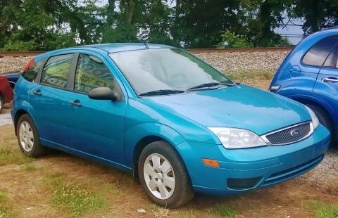 2007 Ford Focus for sale at Abingdon Auto Specialist Inc. in Abingdon VA