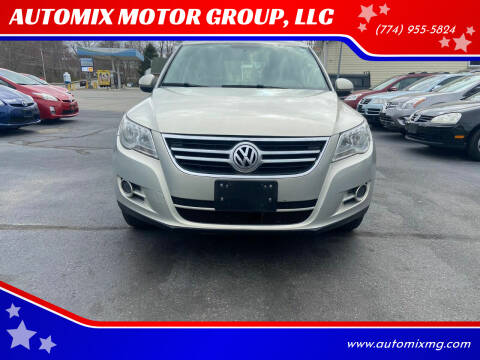 2011 Volkswagen Tiguan for sale at AUTOMIX MOTOR GROUP, LLC in Swansea MA