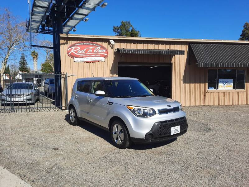2016 Kia Soul for sale at Rent To Own Auto Showroom LLC - Finance Inventory in Modesto CA