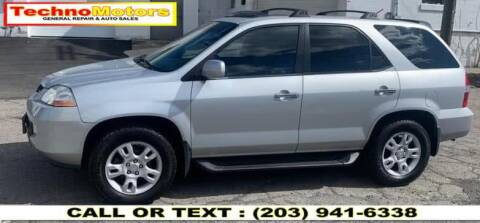 2001 Acura MDX for sale at Techno Motors in Danbury CT