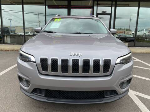 2019 Jeep Cherokee for sale at DRIVEhereNOW.com in Greenville NC