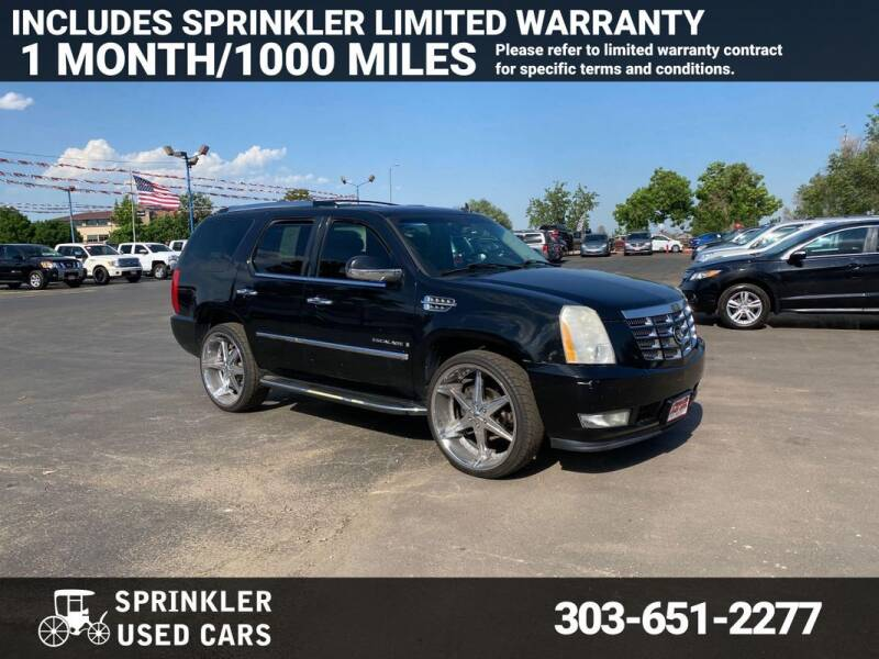 2008 Cadillac Escalade for sale at Sprinkler Used Cars in Longmont CO