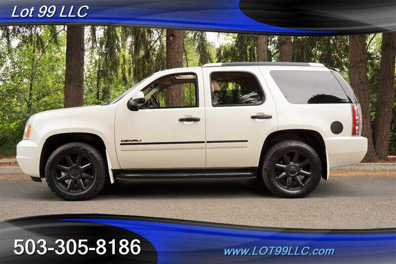 2011 GMC Yukon for sale at LOT 99 LLC in Milwaukie OR