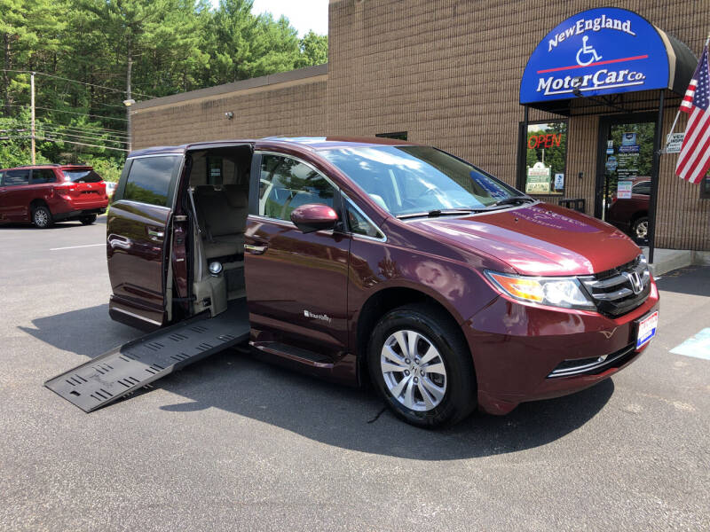 2015 Honda Odyssey for sale at New England Motor Car Company in Hudson NH