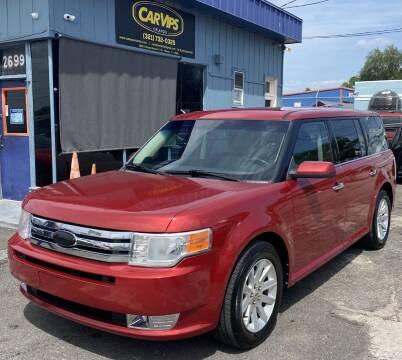 2010 Ford Flex for sale at CAR VIPS ORLANDO LLC in Orlando FL
