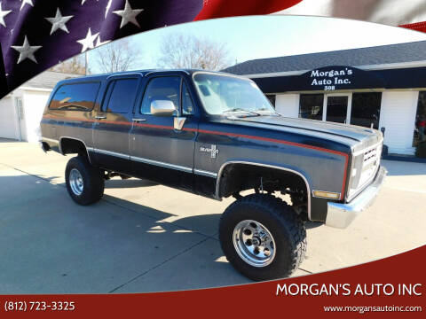 1987 Chevrolet Suburban for sale at Morgan's Auto Inc in Paoli IN
