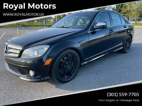 2009 Mercedes-Benz C-Class for sale at Royal Motors in Hyattsville MD