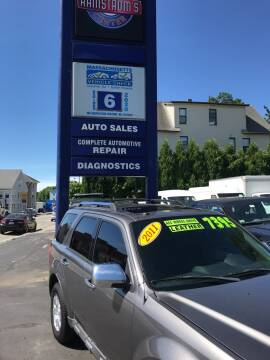2011 Ford Escape for sale at Ramstroms Service Center in Worcester MA