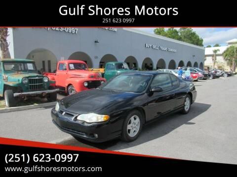 2004 Chevrolet Monte Carlo for sale at Gulf Shores Motors in Gulf Shores AL