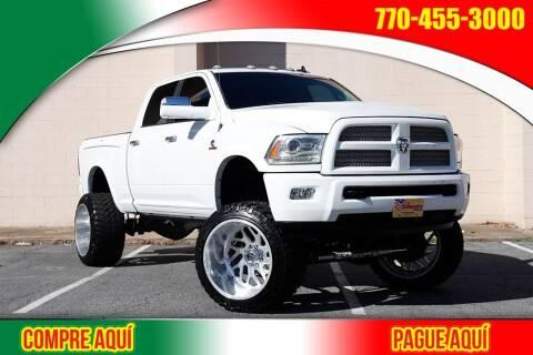 2015 RAM Ram Pickup 2500 for sale at El Compadre Trucks in Doraville GA